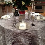ISES CT Networking Event  Silver Shimmery Tabletop